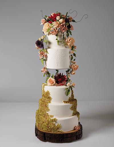 wedding cakes in mexico city